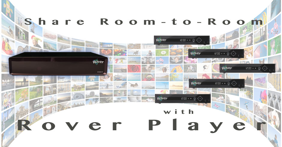 Watch Room-to-Room Rover Whole-Home DVR