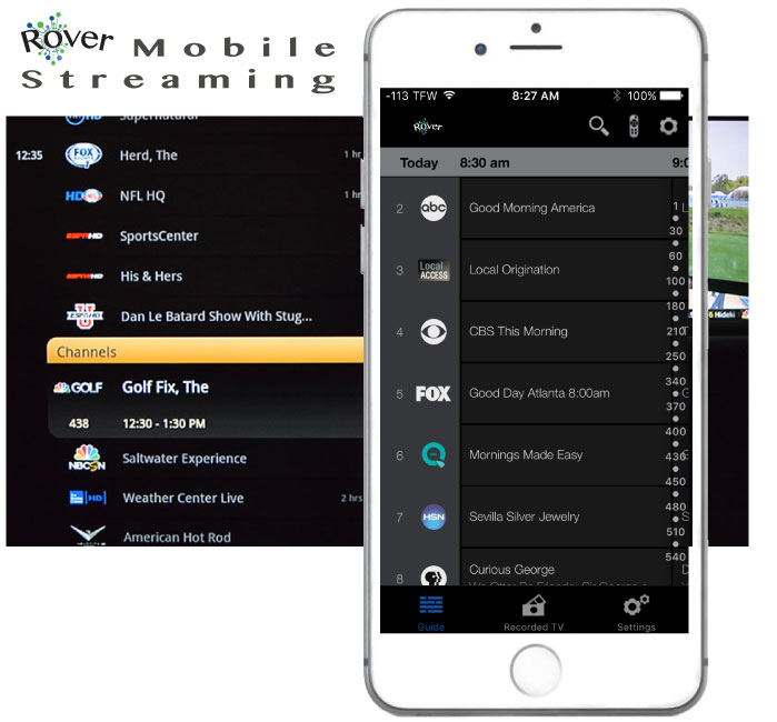 Stream to your Mobile with Rover Whole-Home DVR