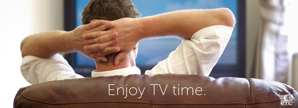 Enjoy your Cable TV time with ETC