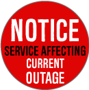 Service Affecting Outage Notice